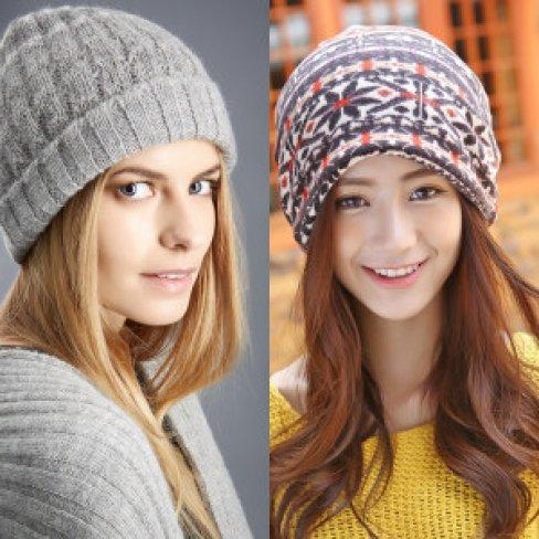 Какие модные вязаные шапки будут в 2018 году  231c9c1223a51